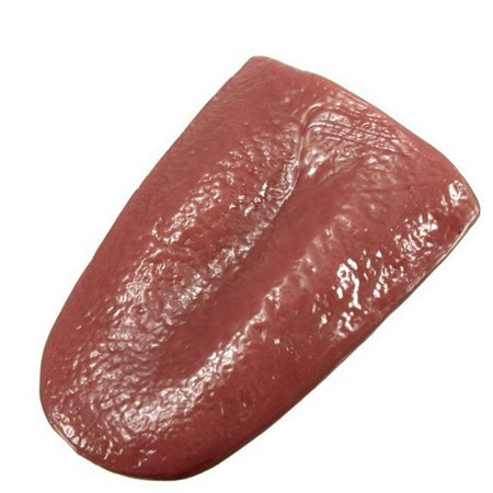 Gooday 3 Pcs Realistic Fake Tongue Gross Jokes Prank Magic Tricks Halloween Horrific Magicians