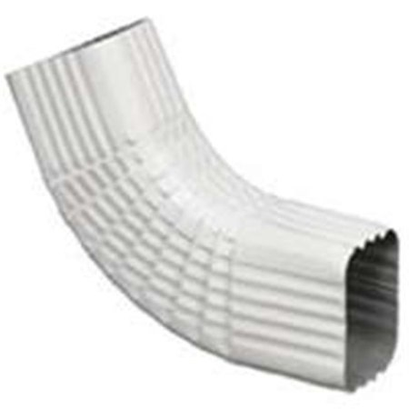 Amerimax Home Products 27065 Aluminum Gutter Elbow - White