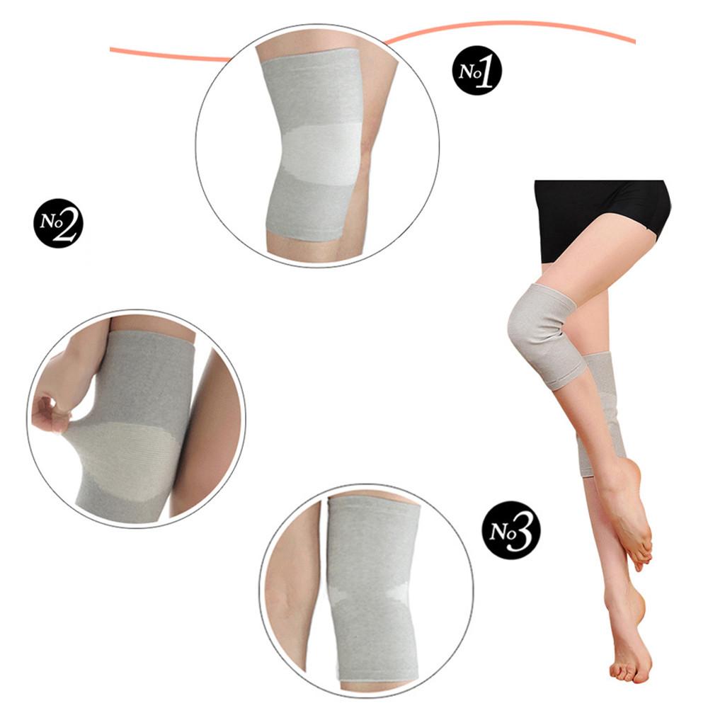 Mosunx Sports Training Warm Knee Protector Tendon Elastic Knee Brace Supports