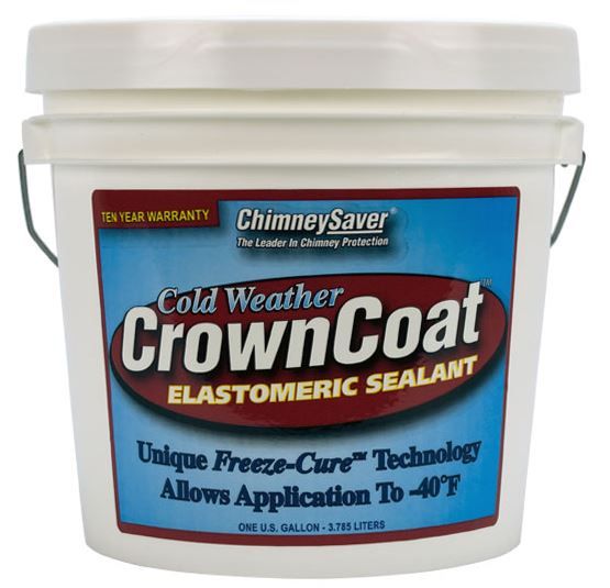 Cold Weather CrownCoat Elastomeric Sealant- 1 Gallon