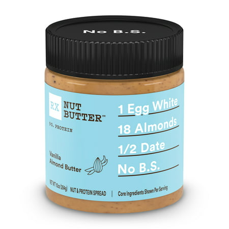 RXBAR Vanilla Almond Butter Whole Food Nut Butter Gluten-Free 10 Oz (Nut Butter Recipes)