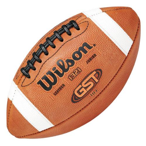 GST TDJ Junior Football in Brown