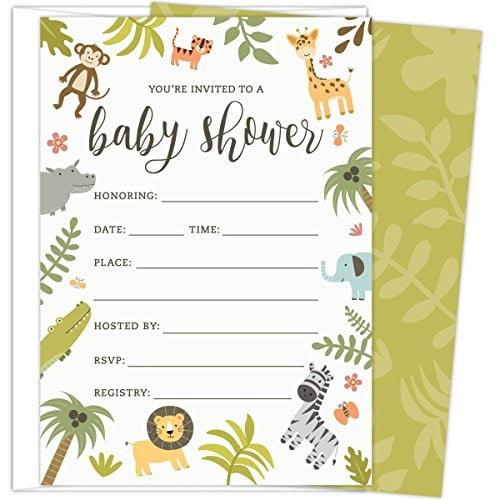 On Safari Set of 3 Baby Bibs Baby Shower GIFT Jungle Monkey Lion /& Elephant