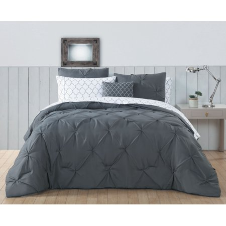 Bradford Pintuck 6pc Bed in a bag