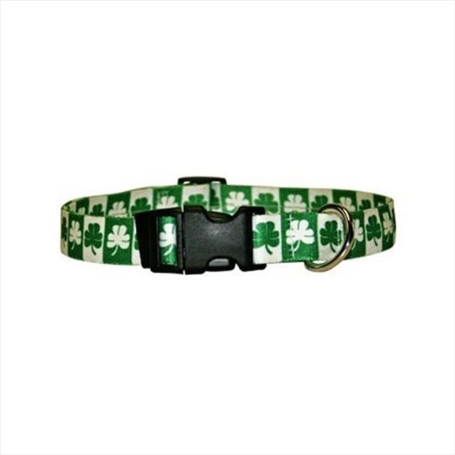Yellow Dog Design SH100TC Shamrock Standard Collar - Teacup