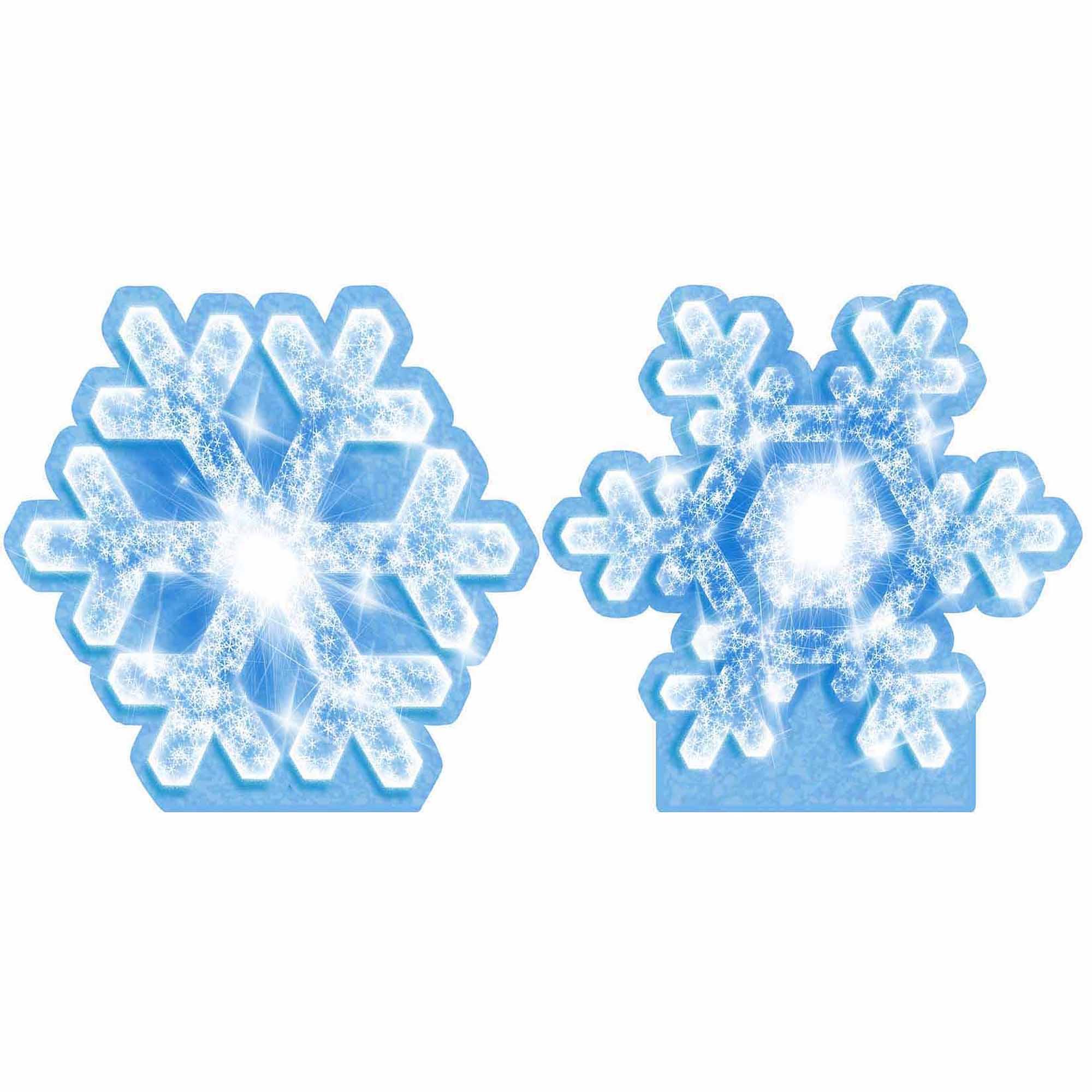 Frozen Wonderland Snowflake Standee Set