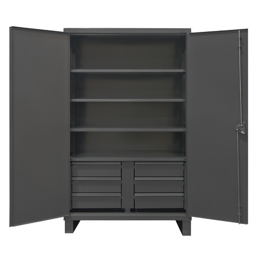 Durham Manufacturing 78'' H x 72'' W x 24'' D 6 Drawers Cabinet