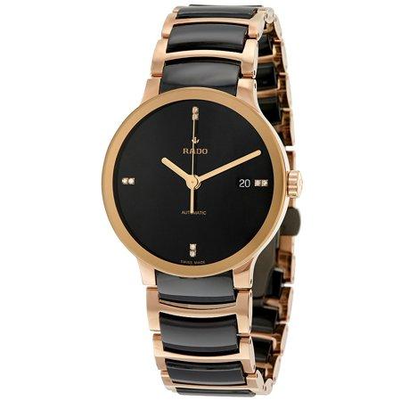 Rado Centrix Black Dial Automatic Unisex Watch R30036712 (Woman Rado Watch)