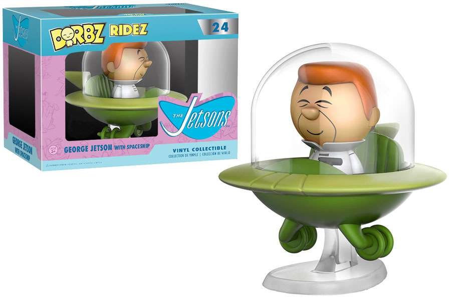 Funko Hanna-Barbera Dorbz Ridez George Jetson with Spaceship Vinyl Collectible by