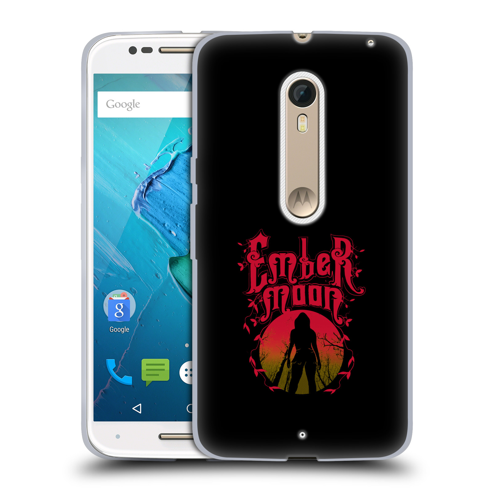 OFFICIAL WWE EMBER MOON SOFT GEL CASE FOR MOTOROLA PHONES 2