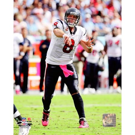 Matt Schaub 2011 Action Photo Print