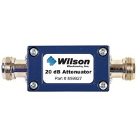 Wilson Electronics 859927 50? Cellular Signal Attenuator with N-Female Connectors (20dB)