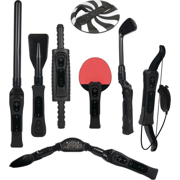 CTA 8-in-1 Sports Pack for Wii Sport Resort - Black (Wii)