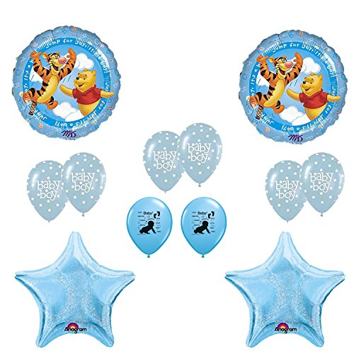 Winnie the Pooh Its A Boy Baby Shower Balloons Decoration Kit