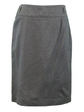 817baeacb Product Image MAXMARA Weekend Women's Charcoal Wool Blend Pencil Skirt  51062203 Sz 8 NWT