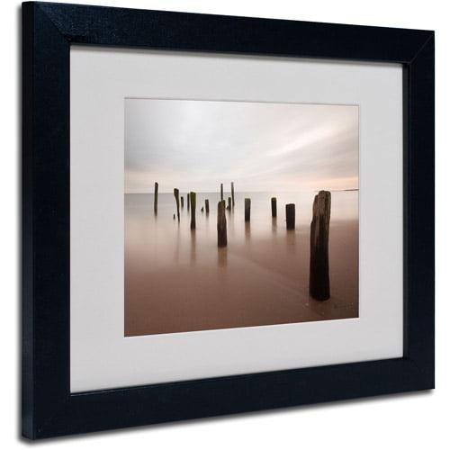 "Trademark Fine Art ""Beyond Measure"" Matted Framed Art by Geoffrey Ansel Agrons, Black Frame"