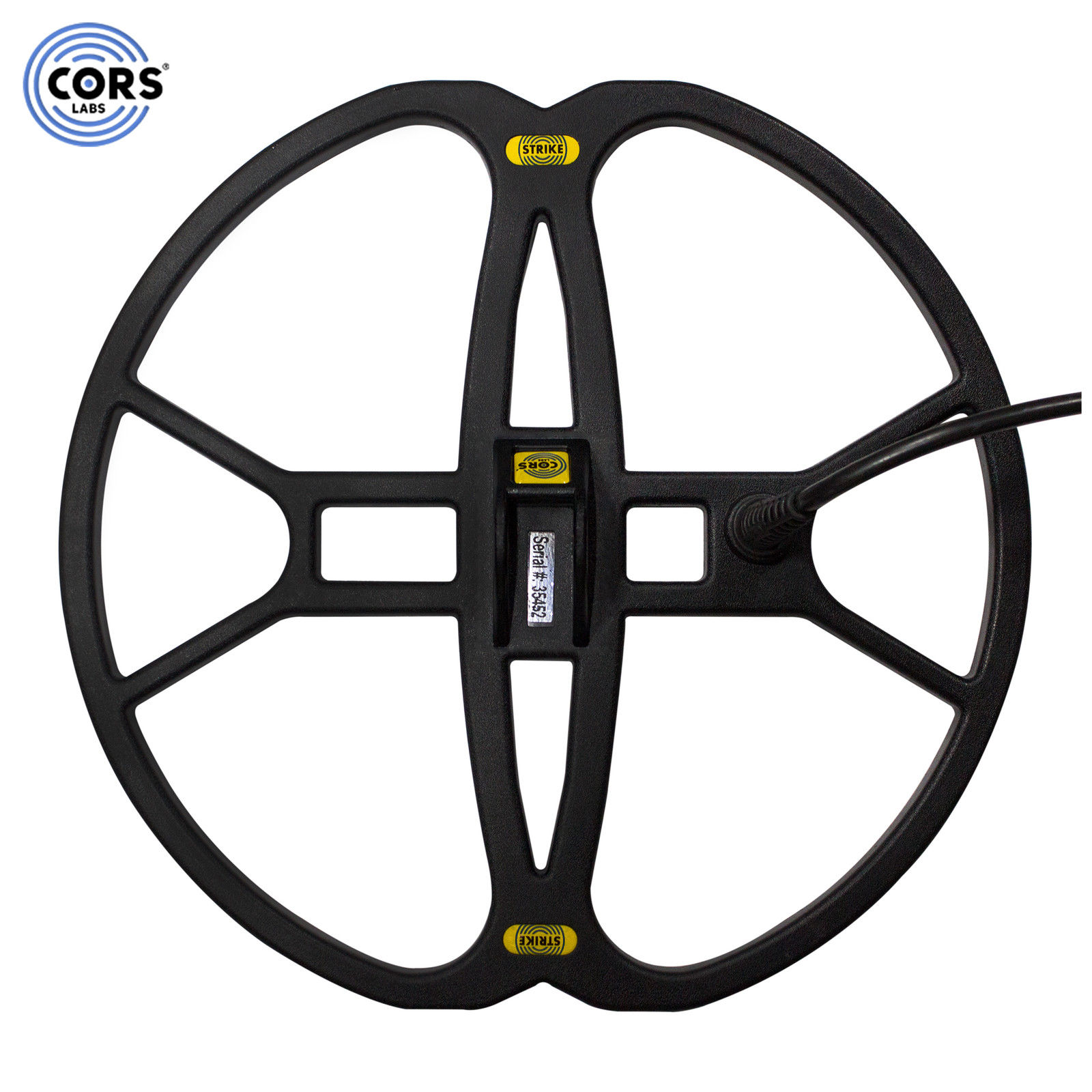 """CORS Strike 12""""x13"""" DD Search Coil for Fisher F5 & Gold B..."""