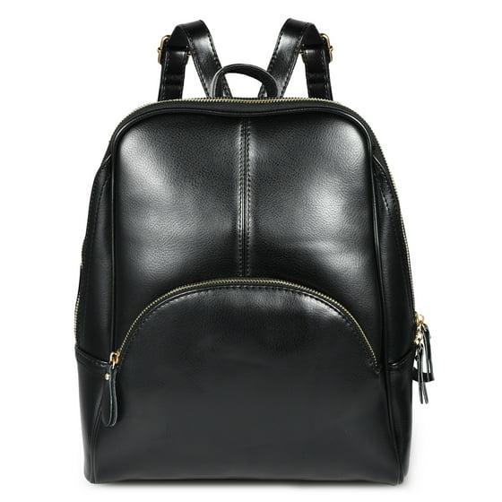 43a3ad536547 Vbiger - Vbiger Ladies Zipper Shoulder Bag Purse PU Leather ...