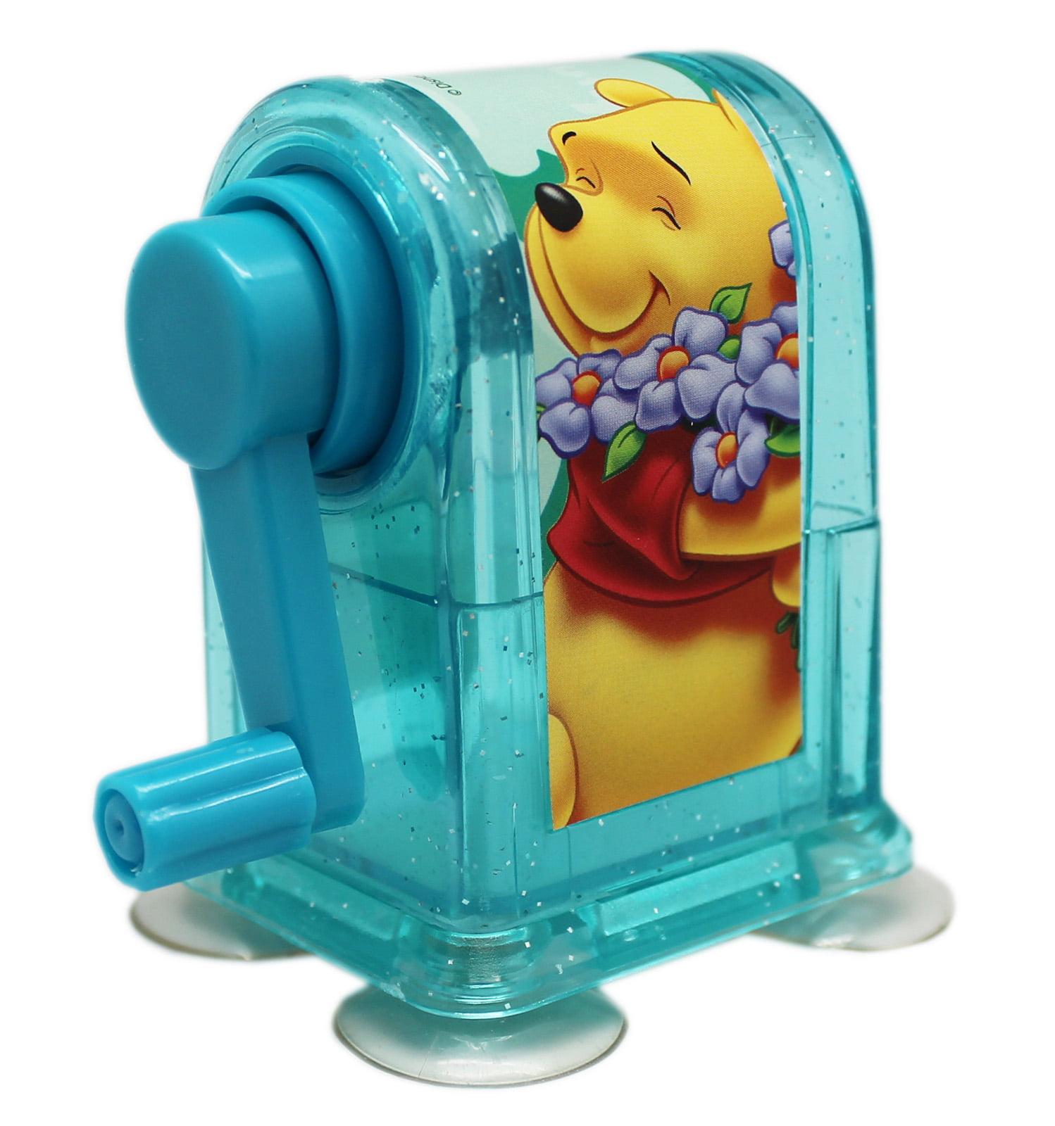 Disney's Winnie the Pooh Suction Cup Bottom Kids Plastic Pencil Sharpener