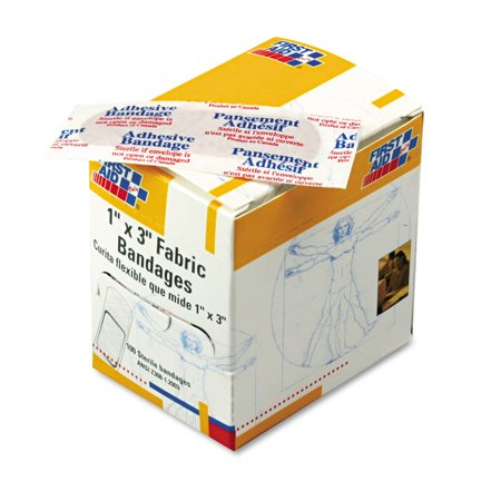 First Aid Only Plastic Bandages - First Aid Only Fabric Bandages, 100 count