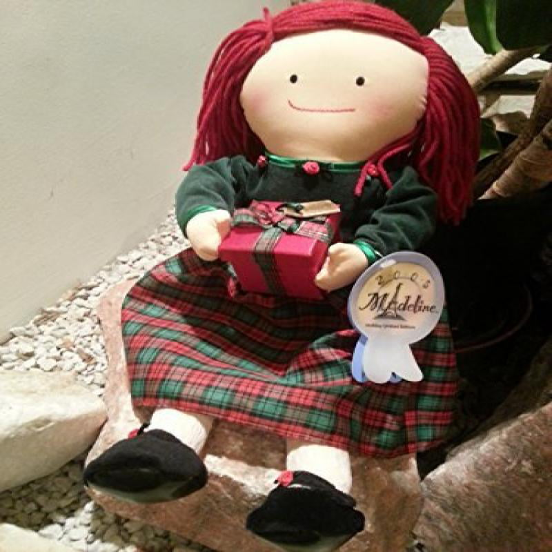 "Madeline 2005 Holiday Limited Edition 18"" Cloth Doll By Rc2 by"
