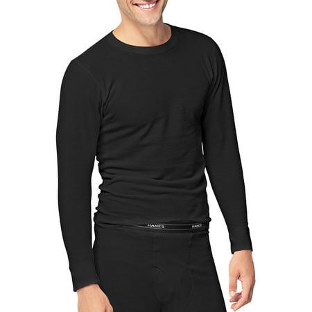 Hanes Men's Beefy Thermal Underwear Crew