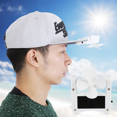 1fad4192df5 Mini Portable Solar Powered Hat Fan Easy to Hang or Clip for Mountain  Climbing Camping Hiking