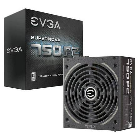 EVGA SuperNOVA 750 P2 220-P2-0750-X1 750W 80 PLUS Platinum ATX12V & EPS12V Power