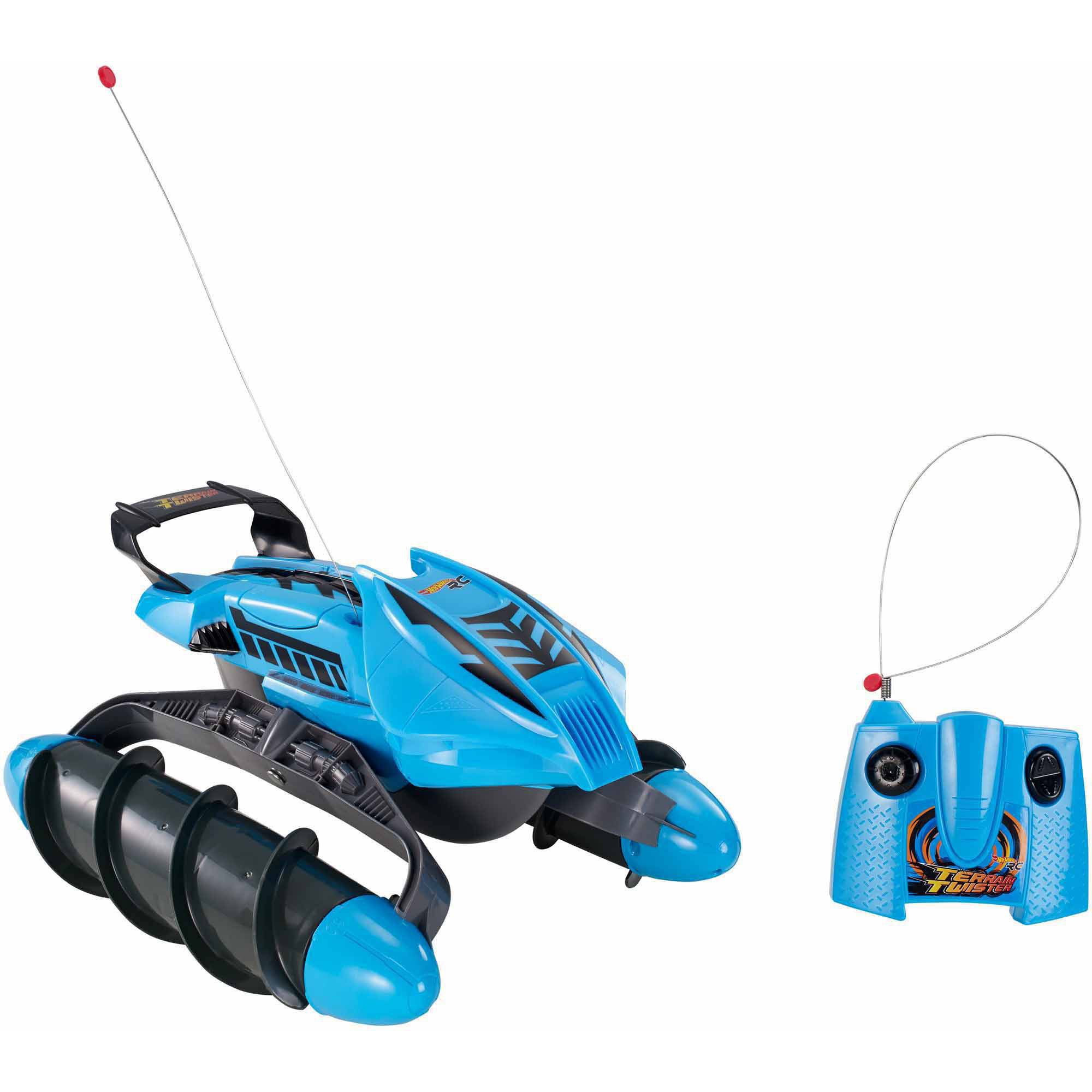 Hot Wheels Terrain Twister Vehicle, Blue
