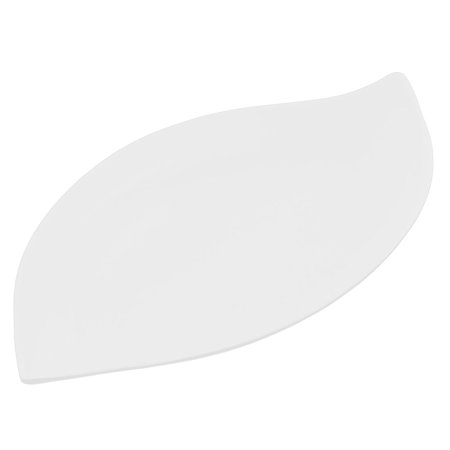 Leaf Serving Dish - Unique Bargains Leaf Design Serving Dish Food Dessert Plate White