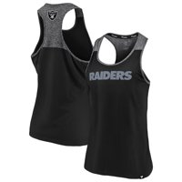 Oakland Raiders NFL Pro Line by Fanatics Branded Women's Made to Move Racerback Tank Top - Black