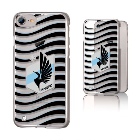 Minnesota United FC MNUFC Wave Clear Case for iPhone 8   7   6 - Walmart.com baa85dd6ba2c5