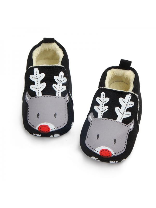 Beautiful Baby Boys Girls Canvas Toddler Sneaker Anti-slip First Walkers Shoes 0-18 Months Dog-70