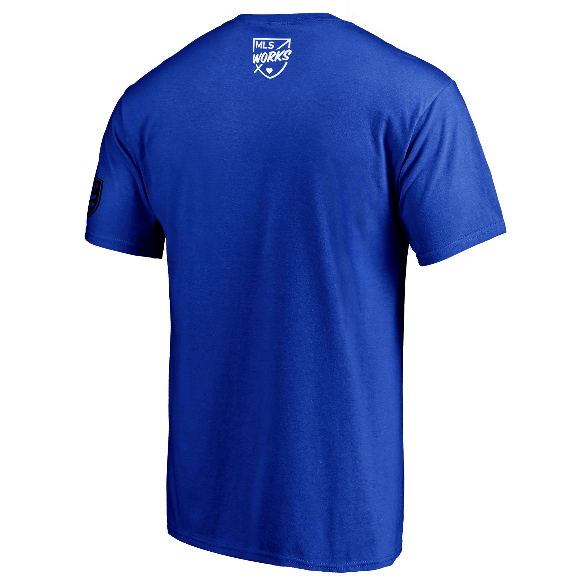 new style 143e0 36869 San Jose Earthquakes Fanatics Branded 2018 Soccer For All T-Shirt - Royal