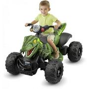 Power Wheels Jurassic World Dino Racer, Green Ride On ATV for Kids