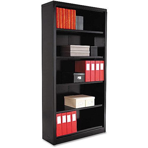 Alera 5-Shelf Steel Bookcase