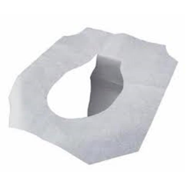 CPC HG5000 1 by 2 Fold White Paper Toilet Seat Cover, Case of 5000 - 20 Case of 250 - image 1 of 1