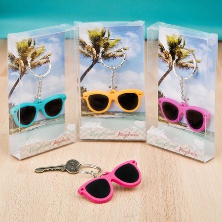 144 Fun Sunglass Key Chain (Sunglass Favors)