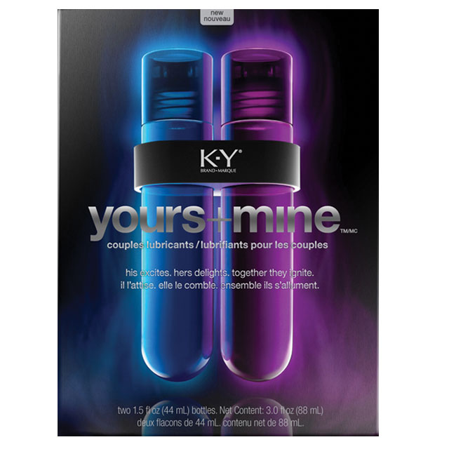 K-Y Yours and Mine Couples Lubricants - 1.5 oz