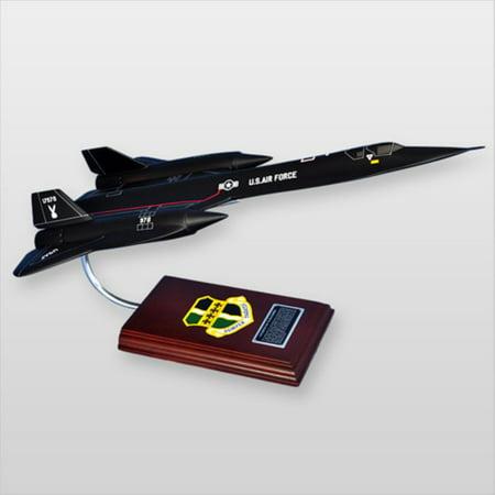 MasterCraft SR-71A Blackbird 1:63 Inch Scale Model Plane ()