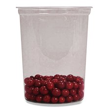 Plastic Clear Food Container 32 Oz | Quantity: 50 by Paper Mart ()