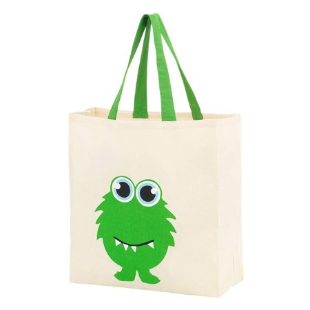 Halloween Discount Store (Custom Personalized Halloween Bag Trick or Treat Tote Storage Pumpkin Witch Monster Princess (Blank -)