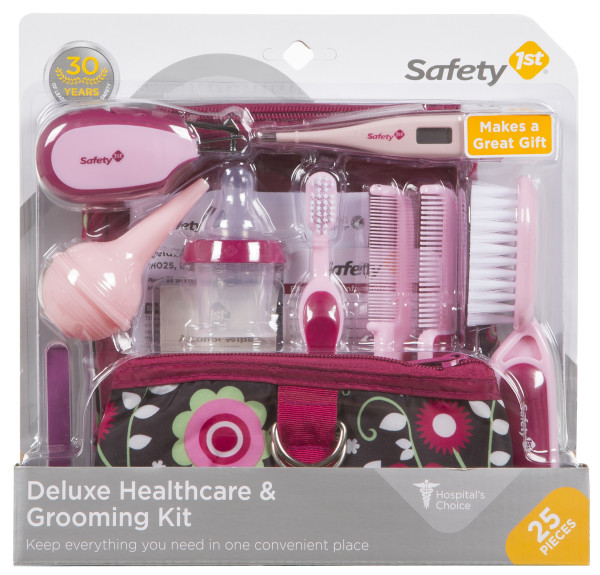 Safety 1st Deluxe Healthcare & Grooming Kit, Folklore