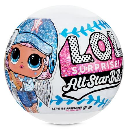L.O.L. Surprise! All-Star B.B.s Sports Series 1 - Baseball Sparkly Dolls