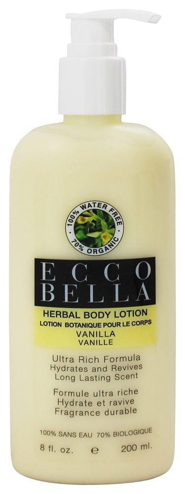 ecco bella vanilla lotion