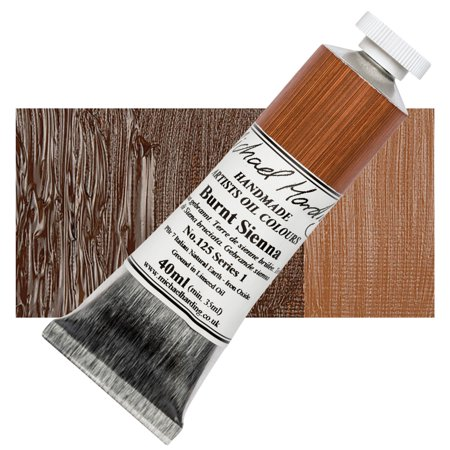 Michael Art Supply (Michael Harding Artists Oil Color - Burnt Sienna, 40 ml)