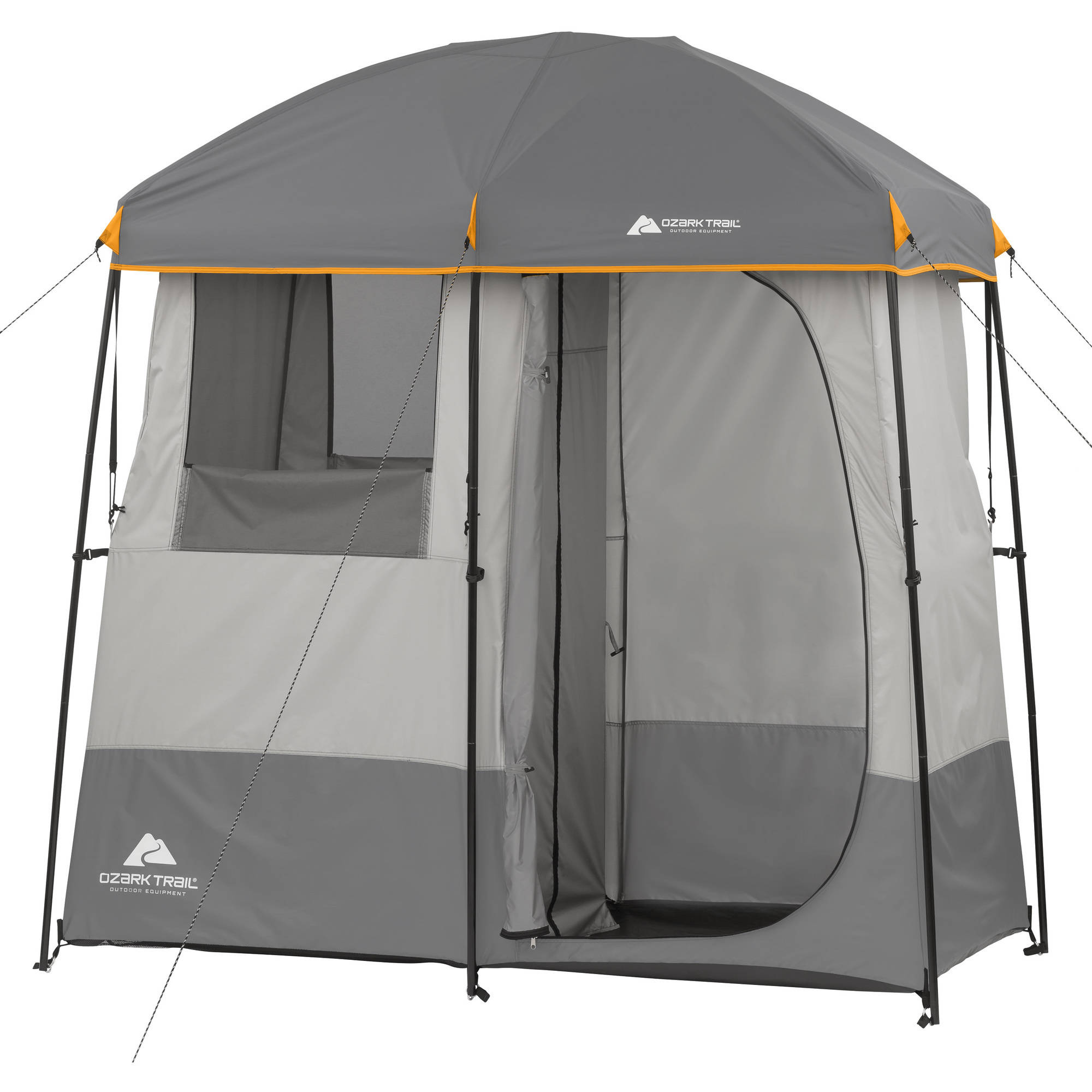 Ozark Trail Room NonInstant Shower Tent Walmartcom - Camping bathroom tent