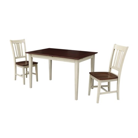 Dining Table With 12 Butterfly Extension And 2 San Remo Chairs