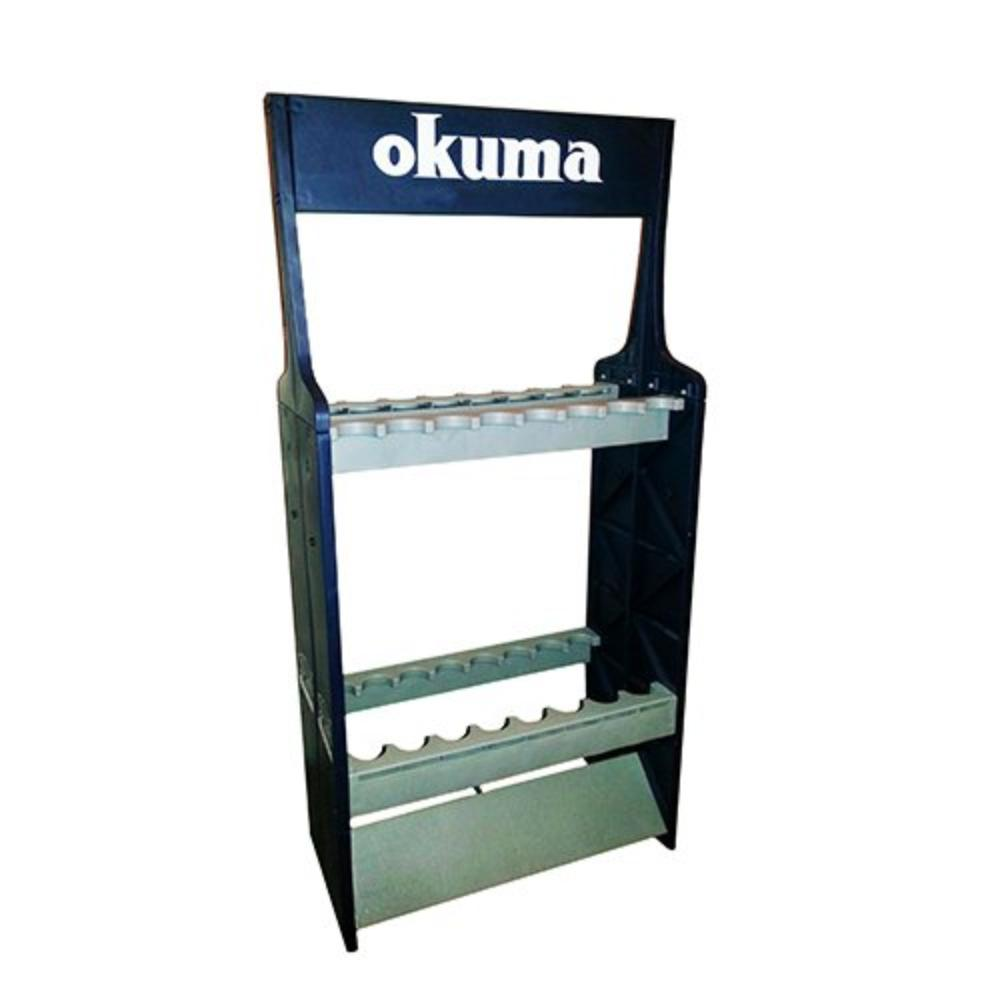 Expandable ABS Rod Rack, Made of highest quality material By Okuma