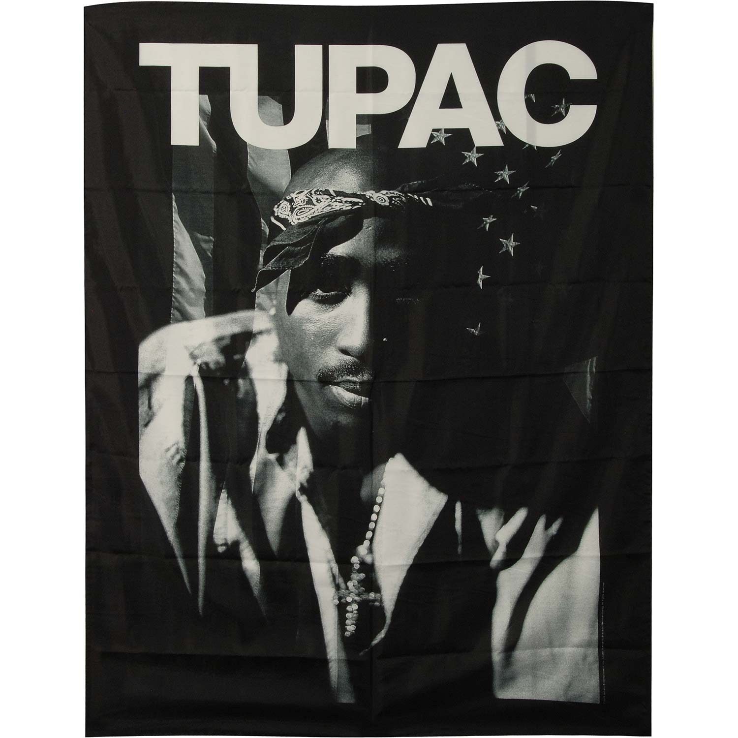 Tupac - Poster Flag